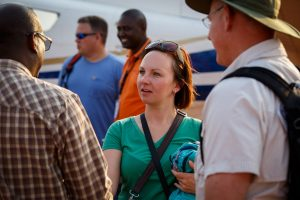 Hope Lutheran and Wellspring team arrival near Mwamba Area Program, Kasama, Zambia. Wellspring Vision Trip day 8.